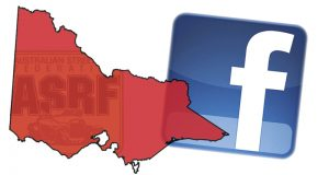 ASRF VICTORIA FACEBOOK PAGE NOW LIVE