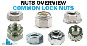 NYLOC NUTS ON SUSPENSION COMPONENTS
