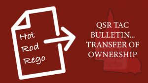 QSR TAC BULLETIN – TRANSFER OF OWNERSHIP
