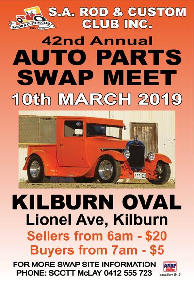 2019 swapmeet advert